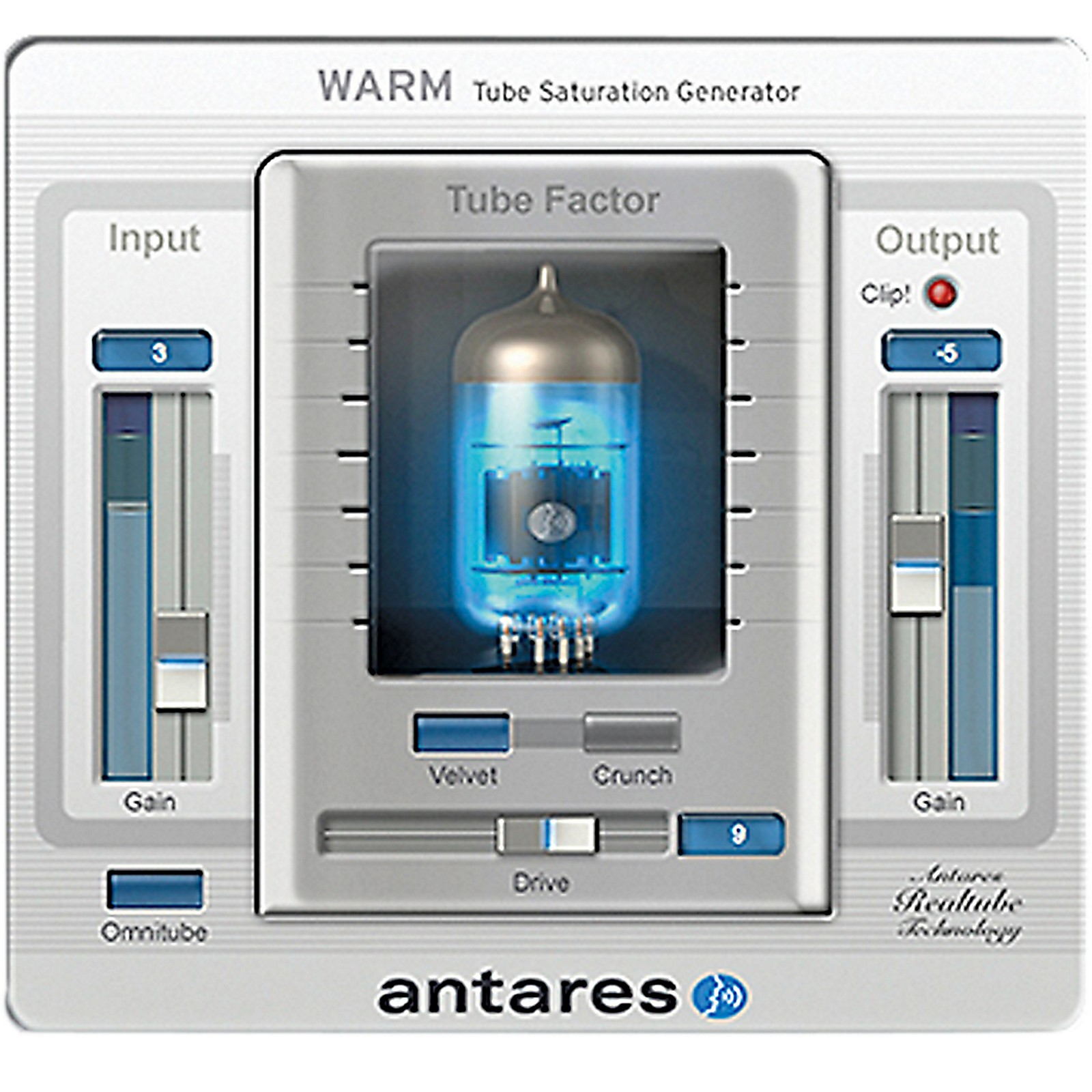 Antares WARM Evo (VST/ AU/ RTAS) Software Download