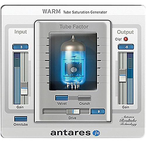 Antares WARM Evo (VST/ AU/ RTAS) Software Download