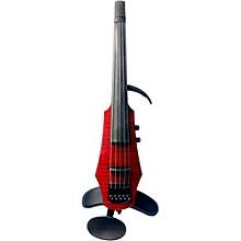 WAV 5  5-String Electric Violin Transparent Red
