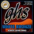 GHS WBL White Bronze Light Acoustic-Electric Guitar Strings thumbnail