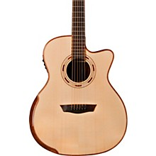 Open BoxWashburn WCG25SCE Comfort Series Acoustic-Electric Guitar