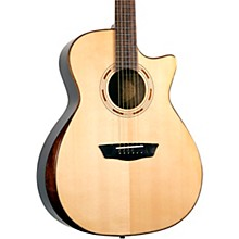 Open Box Washburn WCG70SCEG-O Comfort Grand Auditorium Acoustic-Electric Guitar