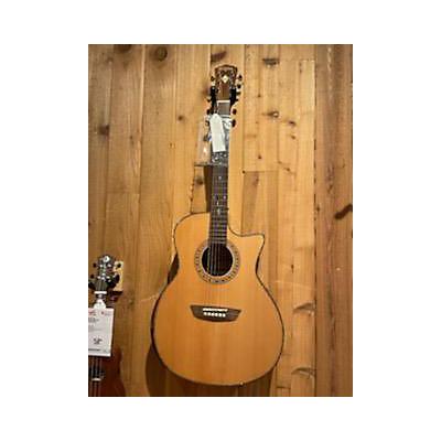 Washburn WCG80SCEG-L Acoustic Electric Guitar