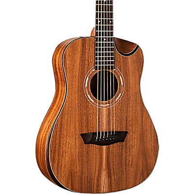 Washburn WCGM55K Comfort Mini Grand Auditorium Acoustic Guitar