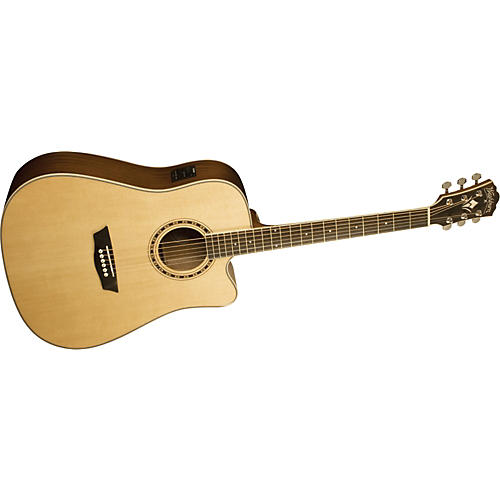 Washburn WD 10CE Dreadnought Acoustic-Electric Guitar