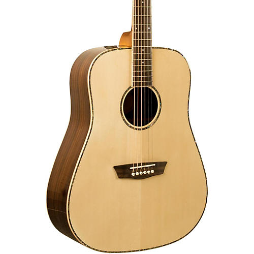 Washburn WD 25S Sitka Spruce Top Dreadnought Acoustic Guitar with Rosewood Back & Sides