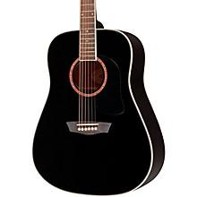 Open BoxWashburn WD100DL Dreadnought Mahogany Acoustic Guitar