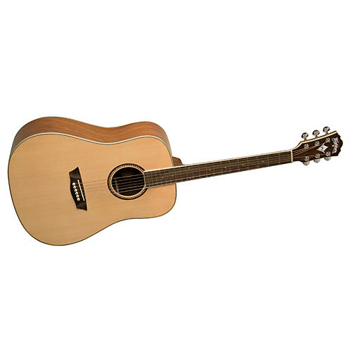 Washburn WD12S Dreadnought Acoustic Solid Top Guitar