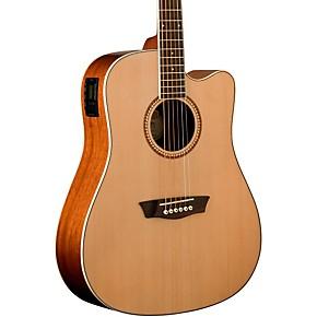 washburn wd12sce acoustic electric guitar musician 39 s friend. Black Bedroom Furniture Sets. Home Design Ideas