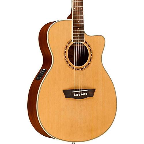 Washburn WF19CE Spruce Folk Acoustic-Electric Guitar