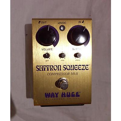 Way Huge Electronics WHE103 Saffron Squeeze Effect Pedal