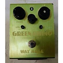 Way Huge Electronics WHE202 Green Rhino Overdrive Effect Pedal