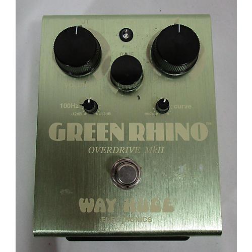 WHE202 Green Rhino Overdrive Effect Pedal