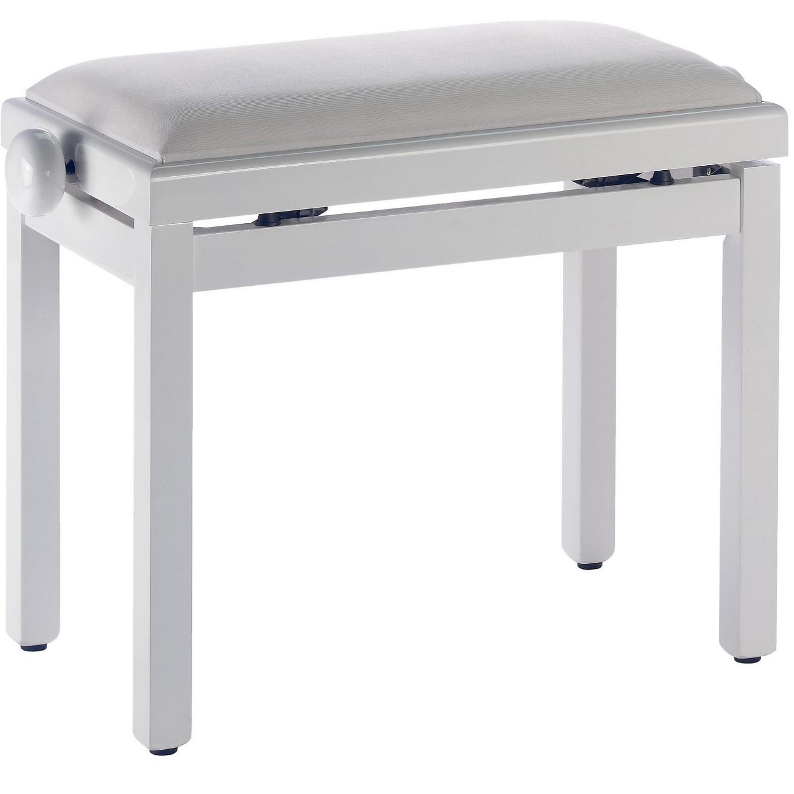 Stagg WHITE BENCH GLOSS+WHITE VELVET TOP