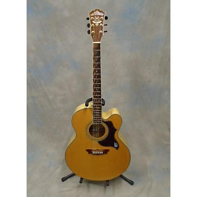 Washburn WJ28SCE Cumberland Deluxe Acoustic Electric Guitar