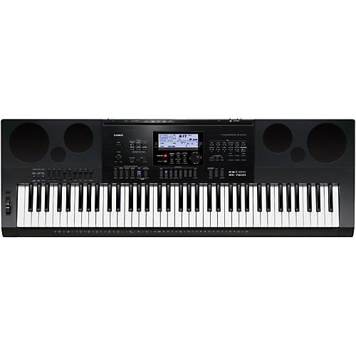 casio wk 7600 76 key portable keyboard musician s friend rh musiciansfriend com