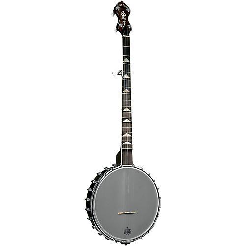 Gold Tone WL-250 White Ladye Left-Handed Open Back Banjo Vintage Brown