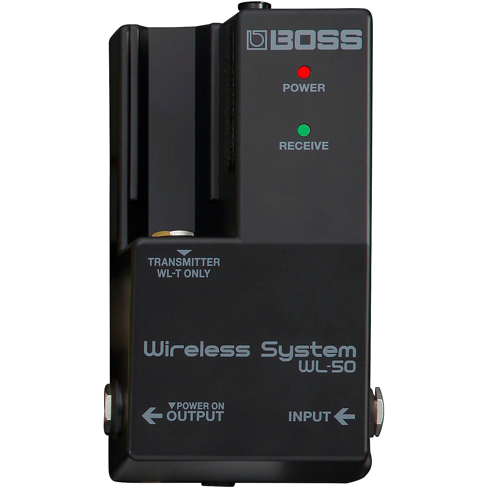 Boss WL-50 Guitar Wireless System