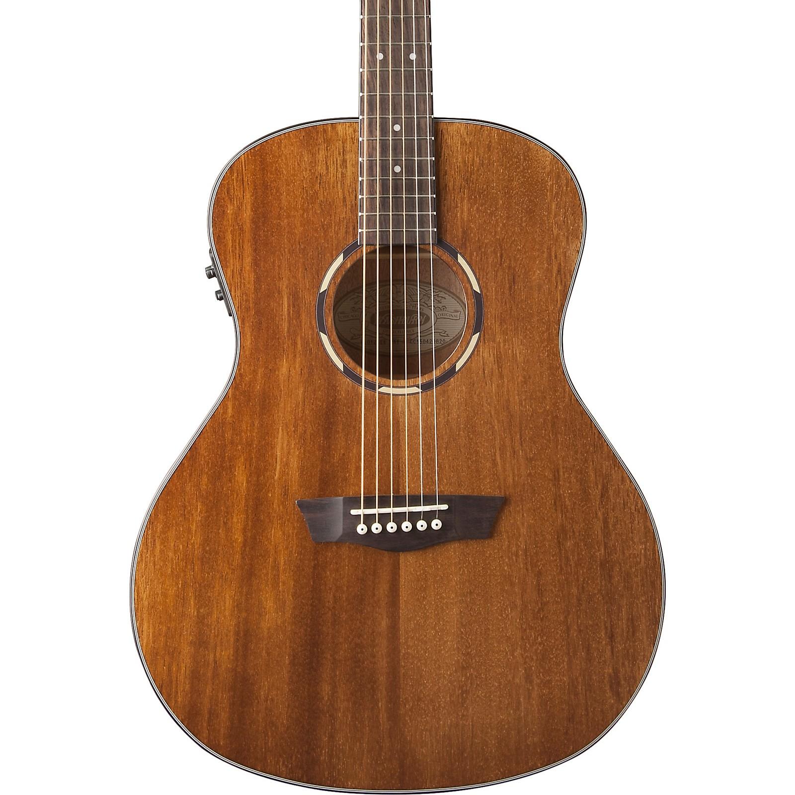 Washburn WL012SE Woodline 10 Series Acoustic-Electric Guitar
