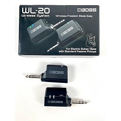 Boss WL20 Instrument Wireless System