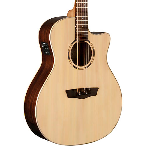 Washburn WLO2SCE Woodline 20 Series Acoustic-Electric Guitar