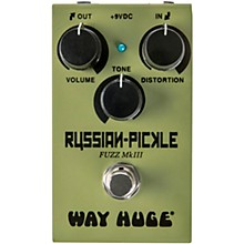 Open BoxWay Huge Electronics WM42 Mini Russian Pickle Fuzz Effects Pedal