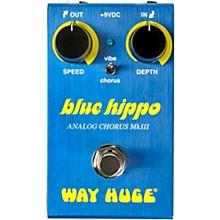 Open BoxWay Huge Electronics WM61 Mini Blue Hippo Analog Chorus Effects Pedal