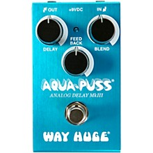 Open Box Way Huge Electronics WM71 Mini Aqua-Puss Analog Delay Effects Pedal