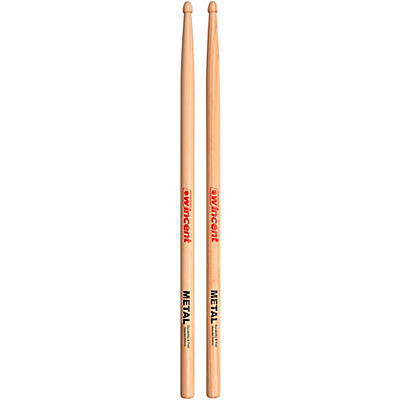 Wincent WMETAL Model Hickory Drumsticks (Pair)