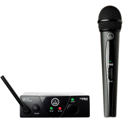 AKG WMS 40 Mini Vocal Wireless System Ch C with D8000M Handheld