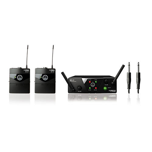 akg wms 40 mini2 instrument wireless microphone set musician 39 s friend. Black Bedroom Furniture Sets. Home Design Ideas