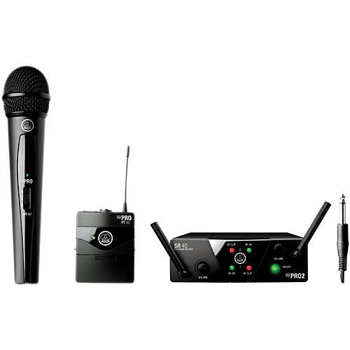 akg wms 40 mini2 vocal instrument wireless microphone set with d8000m handheld musician 39 s friend. Black Bedroom Furniture Sets. Home Design Ideas