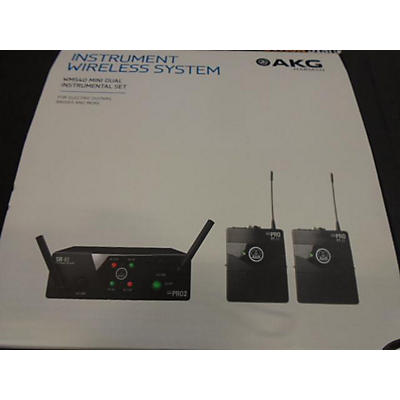 AKG WMS40 Mini2 Vocal Handheld Wireless System