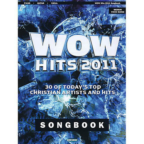 Word Music WOW Hits 2011 Songbook Sacred Folio Series Softcover Performed by Various