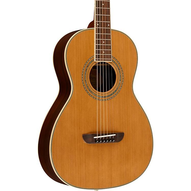 Washburn WP21SNS Parlor Acoustic Guitar Satin Natural ...