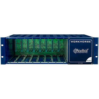 Radial Engineering WR-8 Rack 8 Slot Power Rack