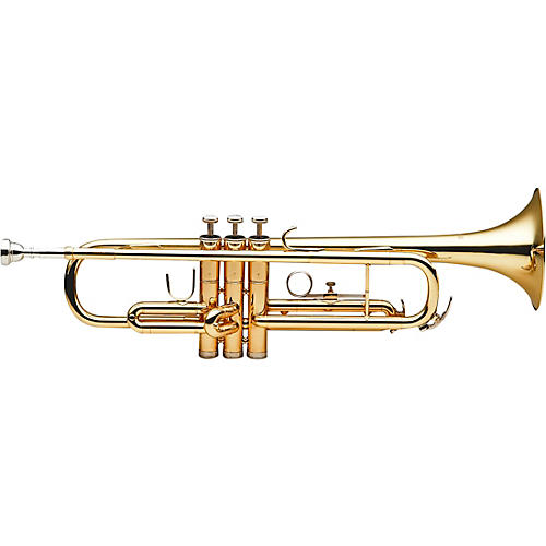 Stagg WS-TR215 Series Student Bb Trumpet Clear Lacquer Yellow Brass Bell