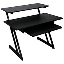 On-Stage WS7500 Series Wood Workstation Black