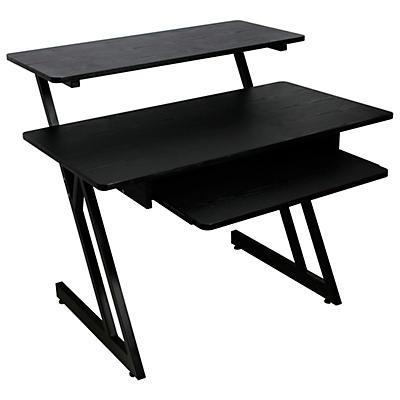 On-Stage WS7500 Series Wood Workstation Black