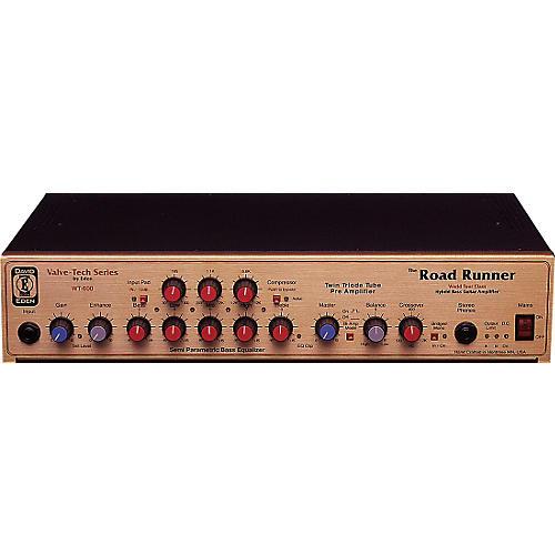Eden WT-600 Road Runner 600 Watt Mono/Stereo 250 Tube Driven Bass Head