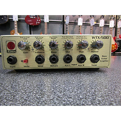Eden WTX500 Bass Amp Head