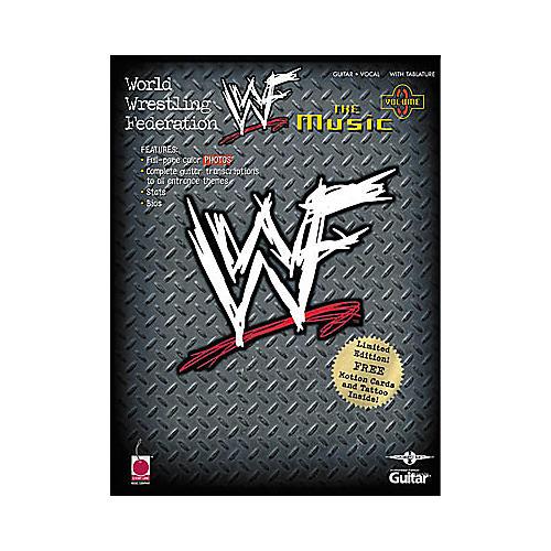 Cherry Lane WWF: The Music, Volume 3 Book