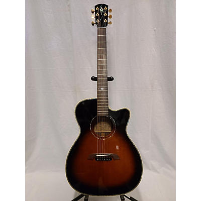 Alvarez WY1TS Yairi Stage OM/Folk Acoustic Electric Guitar
