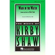 Hal Leonard Wade in the Water TTBB A Cappella Arranged by K Shaw