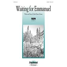 Daybreak Music Waiting for Emmanuel SATB arranged by Ruth Elaine Schram