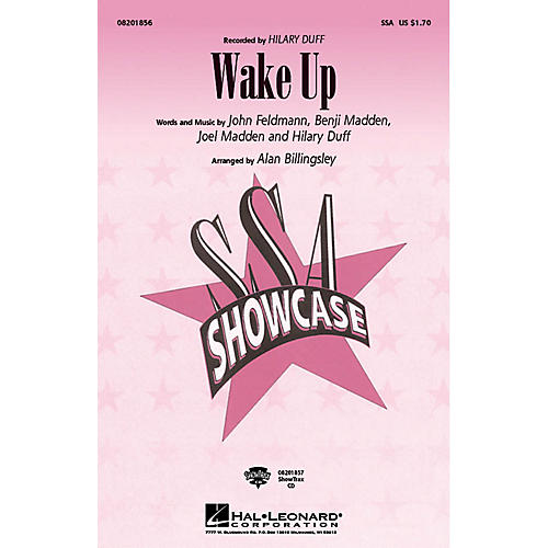 Hal Leonard Wake Up ShowTrax CD by Hilary Duff Arranged by Alan Billingsley