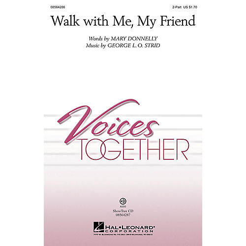 Hal Leonard Walk with Me, My Friend ShowTrax CD Composed by Mary Donnelly
