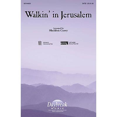 Daybreak Music Walkin' in Jerusalem SATB arranged by Sheldon Curry