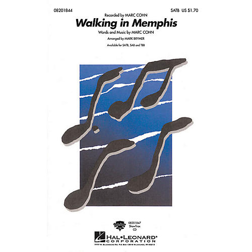 Hal Leonard Walking in Memphis ShowTrax CD Arranged by Mark Brymer