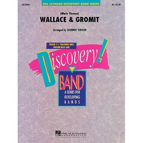 Hal Leonard Wallace & Gromit Concert Band Level 1.5 Arranged by Johnnie Vinson